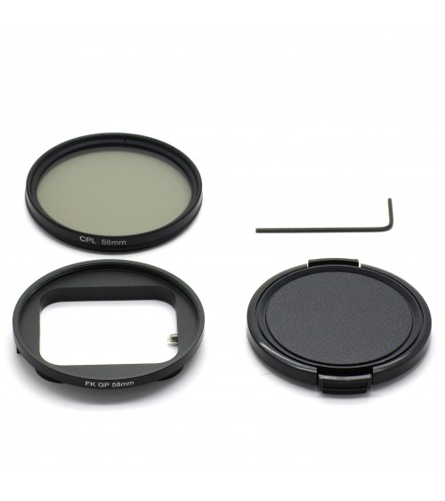 Kit filtre polarisant 58mm HERO 7 Black, 6, 5