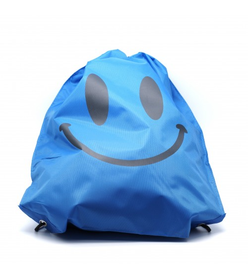 Sac en nylon Blue Smiley